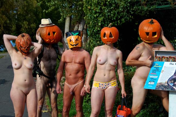 Nude Pumpkin Run 3